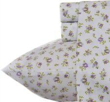 Laura Ashley Home -Sateen Collection -Sheet Set -100% Cotton/Queen, Petite Fleur