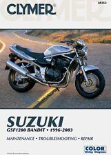 CLYMER MANUAL SUZUKI GSF1200 BANDIT 1996-03, GSF1200S BANDIT 1997-03 GSF 1200 S