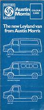 Leyland Austin Morris Sherpa Exterior Colours 1974-75 UK Market Leaflet Brochure