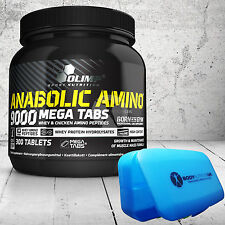 OLIMP ANABOLIC AMINO 9000 QUICKEST POST-WORKOUT RECOVERY FORMULA 300 MEGA TABS
