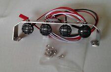 Amewi Dachbügel mit 4 LED Scheinwerfer Metal D90 1:10 Crawler Scaler, Truck