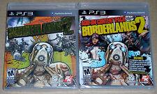 PS3 Game Lot - Borderlands 2 (New) Borderlands 2 Add-On Pack (New)