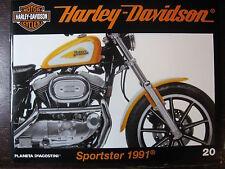 FASCICULE 20 HARLEY DAVIDSON SPORTSTER 1991 / DRAGSTER / MOTO NEIGE ET GOLF CART