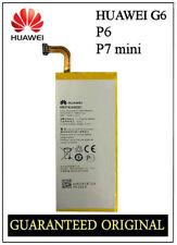 GENUINE BATTERY HUAWEI ASCEND G6 P6 (P6-U06) P7 MINI HB3742A0EBC BGS011224