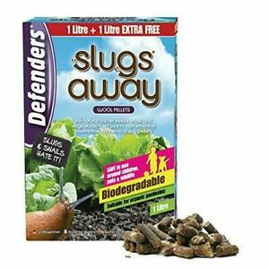 Slug Away Pellets 1ltr - Protects Gardens and Plants  (STV051) Slugs