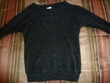 L. A. Hearts Black Fuzzy Sweater, X-Small