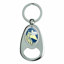 You're Suffering From Beer Elbow Funny Spinning Oval Bottle Opener Keychain