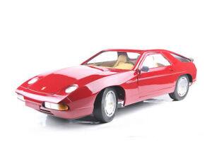 1:8 PORSCHE 928 S4 WESPE red or green sport car resin model ready built PSBS38