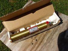 Allenair Pneumatic Air Cylinder Sm 1 18 Bore 6 Stroke 516 Shaft Brass 411