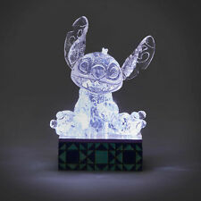 Disney Tradition Jim Shore 2018 Lilo's STITCH Illuminated Ice Bright LU Figurine