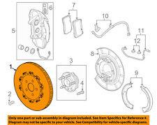 Chevrolet GM OEM 14-15 Camaro Rear Brake-Rotor 22958647