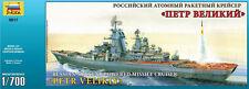 Zvezda 9017 Russian Nuclear Powered Missile Cruiser Petr Velikiy 1/700
