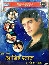 Best Of AAMIR KHAN The Perfect Star - Original Songs DVD