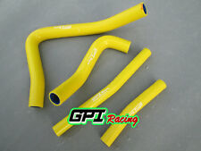 FOR Suzuki RM250 RM 250 96-00 97 98 99 2000 99 00 silicone radiator hose Yellow
