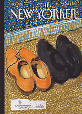 MARCH 7 2011 NEW YORKER vintage magazine - TWO PAIRS OF SHOES