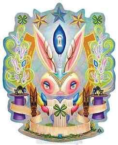 Magic Jackalope Sticker Decal Artist Aaron Marshall AM7