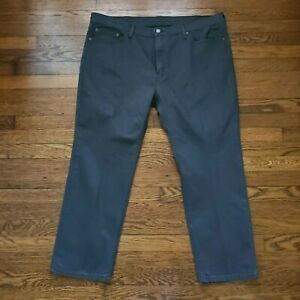 Levis 541 Mens Jeans Denim Casual Charcoal Red Tab Sz 44x30 Straight Fit Baggy