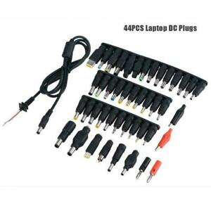 44pcs Universal 5.5*2.1mm DC Power Adapter Plug Charger Tip For Laptop PC FOY