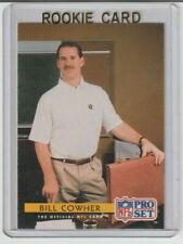 BILL COWHER Steelers 1992 Pro Set Rookie Card #306 SP RC Mint HOF 2020