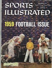 1959 9/21 Sports Illustrated magazine football Virginia Tech Hokies v VMI GOOD