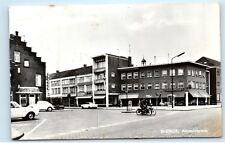 *Blerick Antoniusplein Netherlands Street View Vintage Real Photo Postcard C51