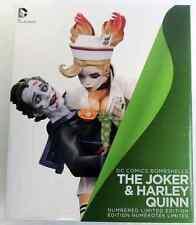 Dc Comics Batman Universe: The Joker & Harley Quinn Bombshells Porcelain Statue