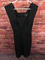 NWT Banana Republic Roland Mouret Limited Edition Black Sheath Dress Size 0 E289