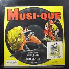 Various - Musi-Que Sound Effects - Volume B LP VG+ BR-1053 Mono Vinyl Record