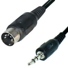 Audio Kabel 5pol DIN Stecker auf 3,5mm Klinke Stecker 1,5m Klinken Adapter