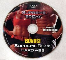 SUPREME 90 DAY WORKOUT - Supreme ROCK HARD ABS DVD - New