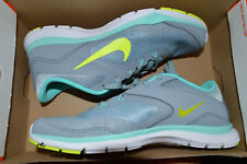 New Womens Nike Flex Trainer 5 Training Shoes 724858-004 sz 8 Dove Grey