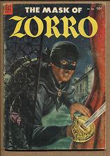 Four-Color #538 - The Mask of Zorro! - 1954 (Grade 6.0)
