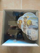 SAMSUNG 3D STARTER KIT * SHUTTER GLASSES * SHREK * MEGAMIND * SEALED BRAND NEW