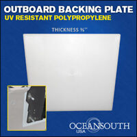 """OUTBOARD TRANSOM MOUNTING BRACKET PLATE 2/3"""" thickness"""