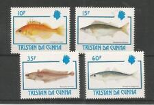 TRISTAN DA CUNHA 1992 FISH SG,531-534 UM/M NH LOT 8246A