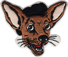"""Patch - Chihuahua Hat Beret Dog Puppy Funny Animal Pet Sew Iron On 3"""" #9619 Cool"""