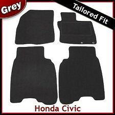 Honda Civic 3/5 Dr (2006 2007 2008) Tailored Fitted Carpet Car Mats GREY