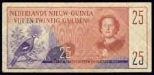 """New listing Netherlands New Guinea: 8-12-1954 25 Gulden """"Exquisite Rarity"""". Pick 15a Nef"""