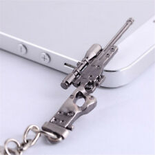 Pendant Keychain Key Ring Gift Hot Fashion Mens Mini Gun Shape Model Metal