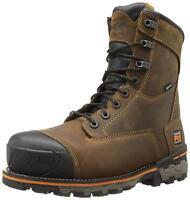 Timberland PRO Men's 8 Inch Boondock Composite-Toe Waterproof Work 92671 Brown