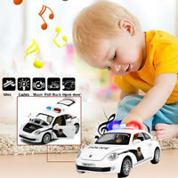Toys for Boys Truck Kids FBI Police Car LED Sounds 3 4 5 6 7 8 9 age Xmas Gift