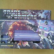 Transformers G1 Nemesis Optimus Prime  Custom Box!!!