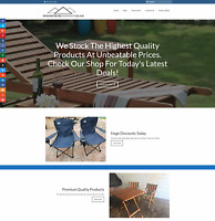 CAMPING FURNITURE Website Earn £120 A SALE|FREE Domain|FREE Hosting|FREE Traffic