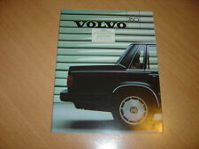 CATALOGUE Volvo 760 de 1986