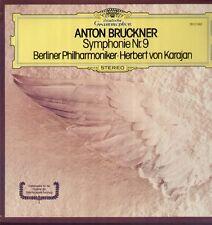BRUCKNER-Symphonie nº 9 LP Ed 1, Karajan, Berliner Philharmonique