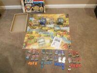 GI Joe Commando Attack Game 1985 99% Complete W/ Box VERY Collectible No Patch