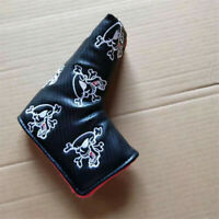 New Magnetic Blade Golf Skull Putter Cover Headcover for Scotty Ping Answer PXG