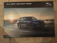 JAGUAR F-PACE UK SALES BROCHURE October 2015