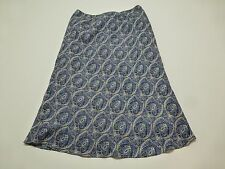 Tommy Hilfiger Womens Size 6 Blue Silk Skirt Great Condition