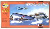 SMER Aero C-3 A/B, Flugzeug,Tschechoslowakei,Bausatz,1:72, 0936